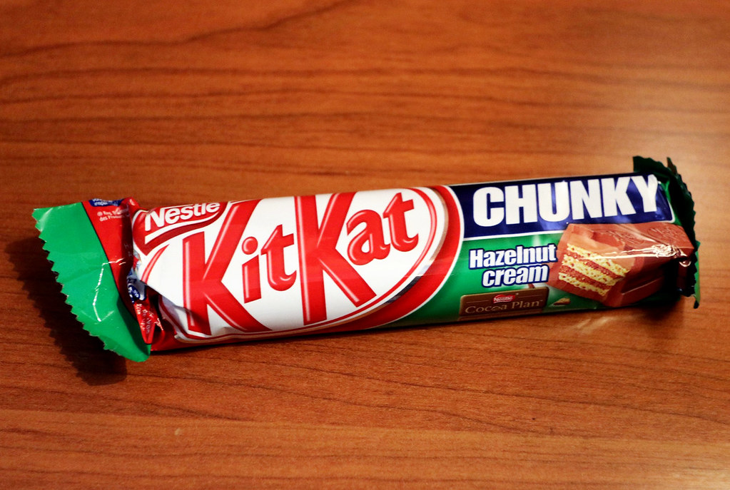 """KitKat """"Hazelnut Cream"""" - Prague"""