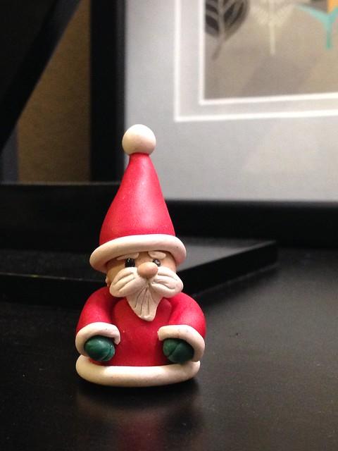 Polymer Clay Santa