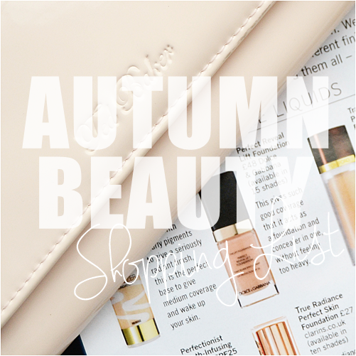 Autumn_Beauty_Shopping_list