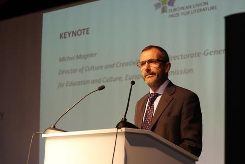 Michel Magnier, directeur de la section Culture et Créativité d'Europe Creative
