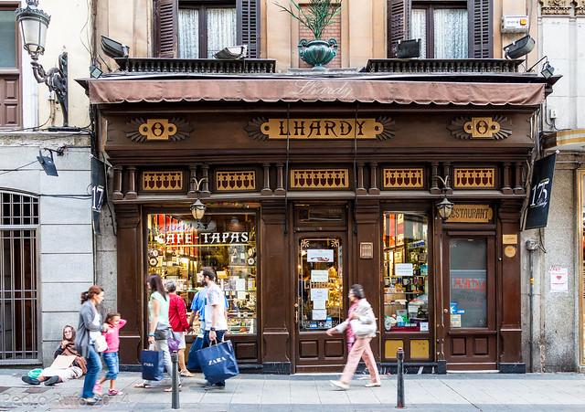 Restaurantes Centenarios de Madrid - Lhardy 1