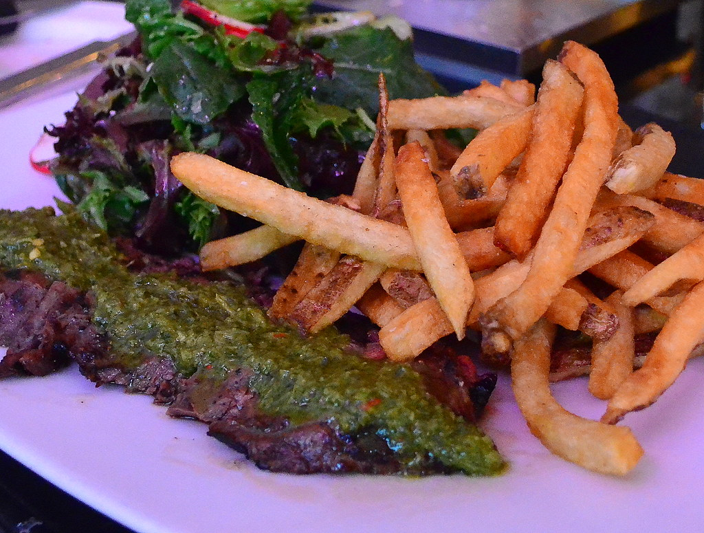 Virginia Skirt Steak with Fries
