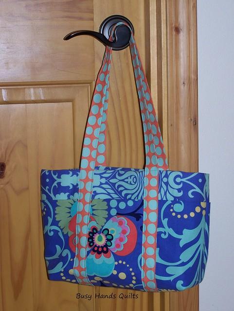 Pocket Purse in Amy Butler Love Fabrics