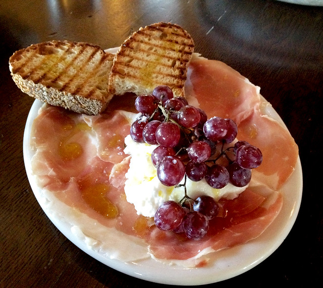 Prosciutto and Burrata