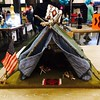 Camp Tent Birdhouse #portlanddesignweek #wemakepdx