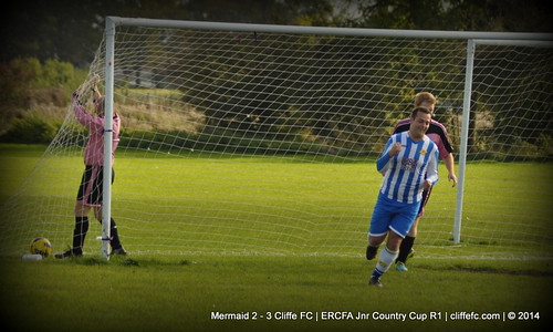 Cliffe FC 3 - 2 Mermaid (Cup) 12Oct14