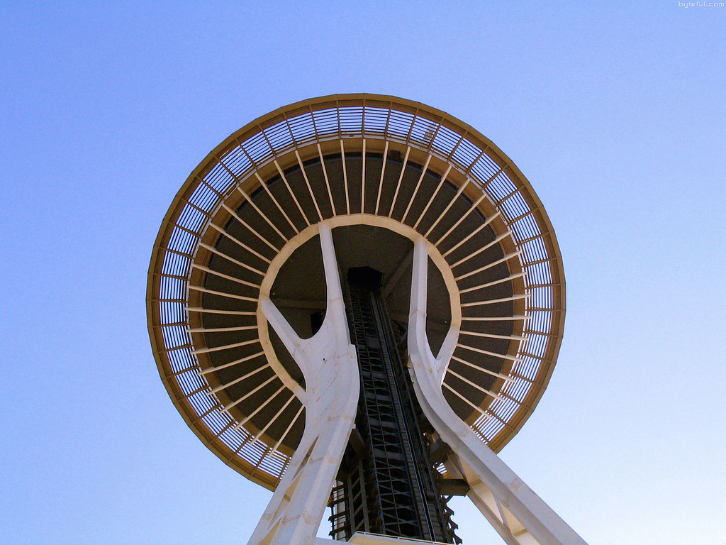 how to make the seattle space needle
