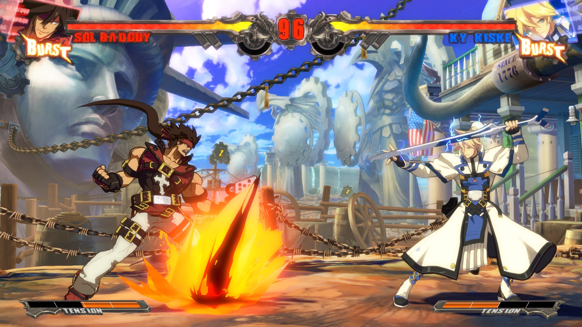 Guilty Gear xrd sign sol ky