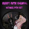 Creepy Cutie Carnival Poster