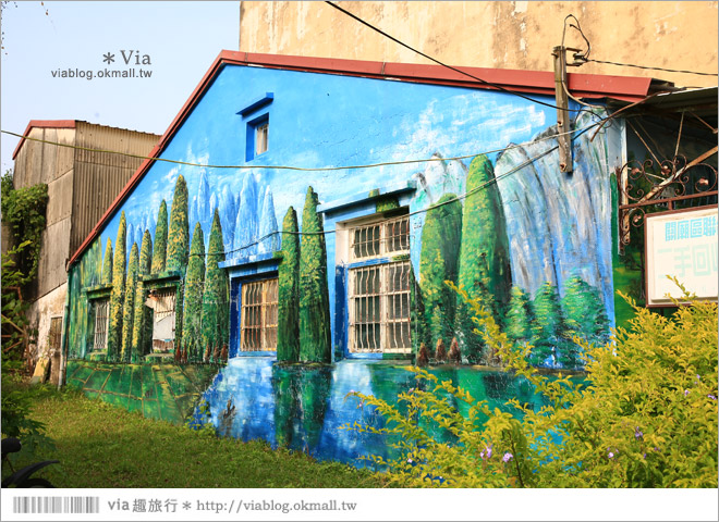 【關廟彩繪村】新光里彩繪村~在北寮老街裡散步‧遇見全台最藝術風味的彩繪村53