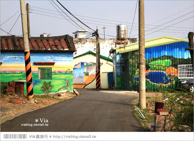 【關廟彩繪村】新光里彩繪村~在北寮老街裡散步‧遇見全台最藝術風味的彩繪村45