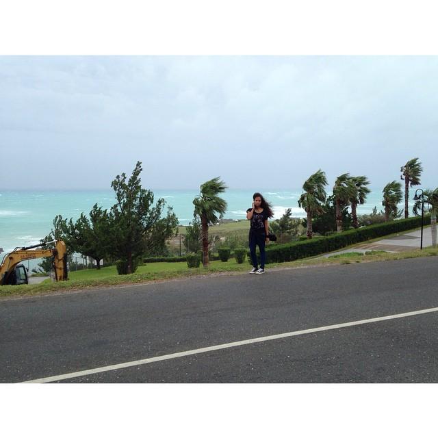 Hello Gonzalo ⚠️ #HurricaneGonzalo #bermuda #stormwatch