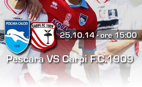 Pescara VS Carpi