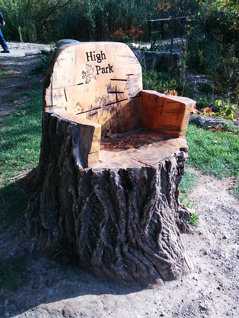 high park throne