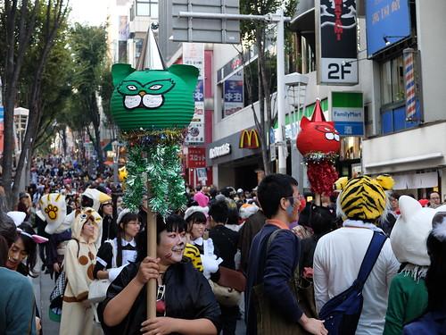 Kagurazaka Bakeneko Parade 2014-04
