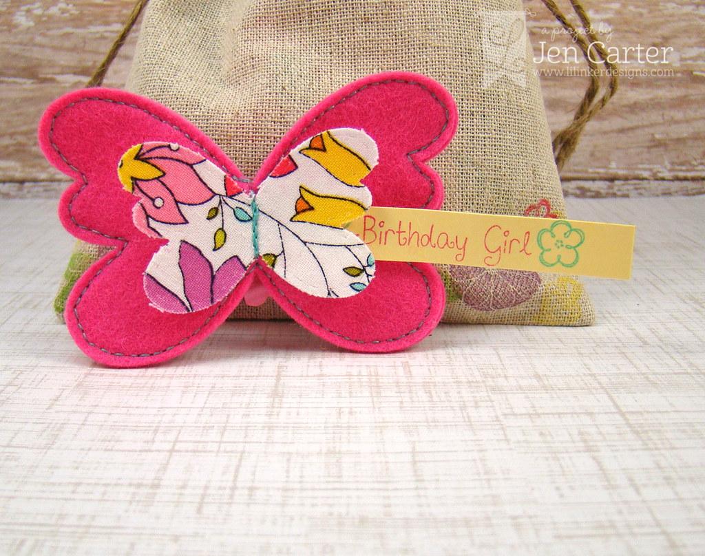 Jen Carter LID Butterfly Clip