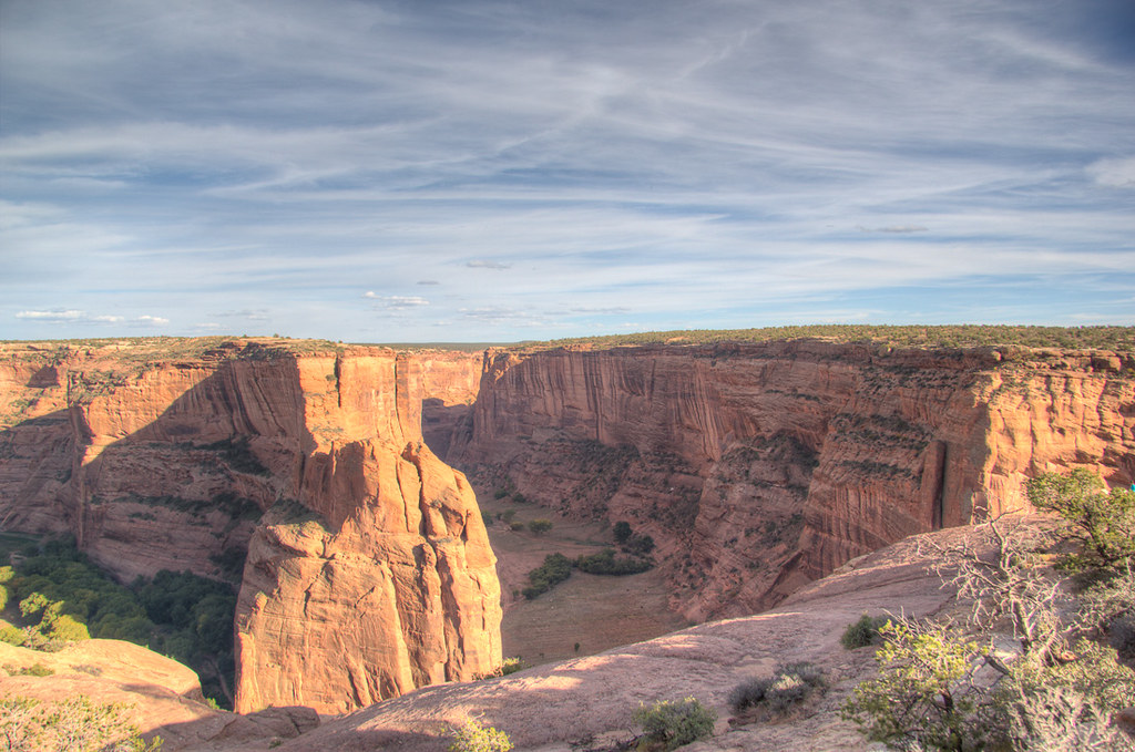 View of Canyon de Chelly from North Rim Drive