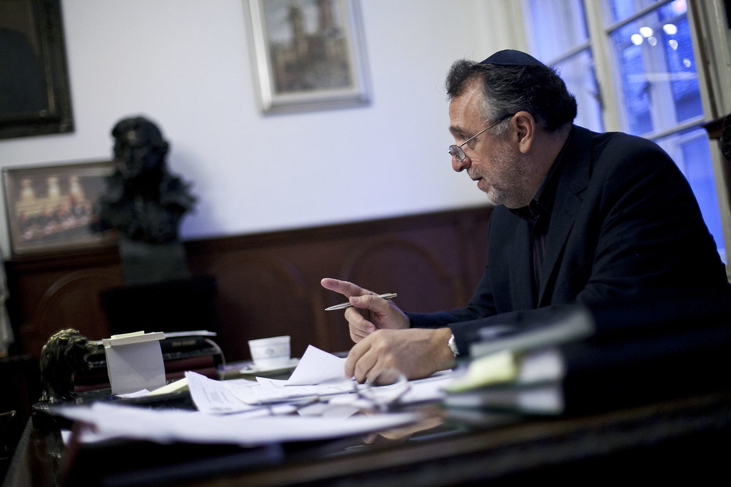 Heisler András, a Mazsihisz elnöke