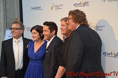 Music producer Jeff Koz, Audrey's Cookies Founder & CEO Roberta Koz Wilson, musician Dave Koz, Carol Shiffman, and Starlight Childrens Foundation Global Board Chair Roger Shiffman at the 2014 Starlight Awards #starlightonline DSC_0011