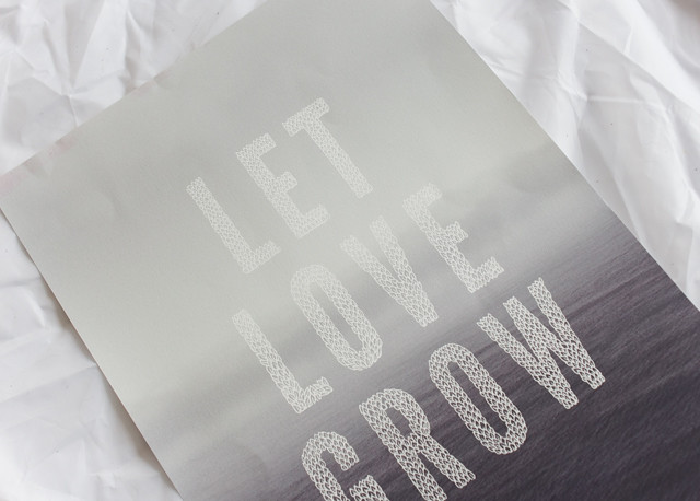 let love grow print by liz mosely