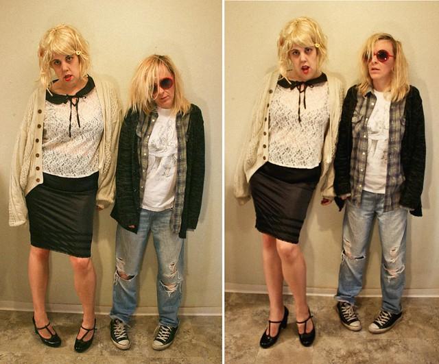 Bo and Su Halloween Costumes 2014 - Kurt & Courtney ...