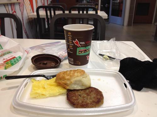 Breakfast and coffeeneuring