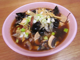 Shroomy Hot & Sour Soup