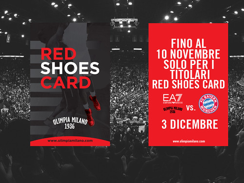 "Olimpia-Bayern per chi ha la ""Red Shoes Card"""