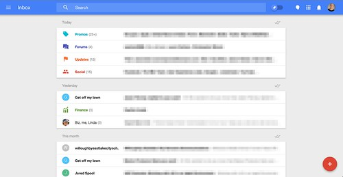 Inbox by Gmail on web