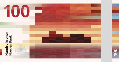 norway pixel banknote