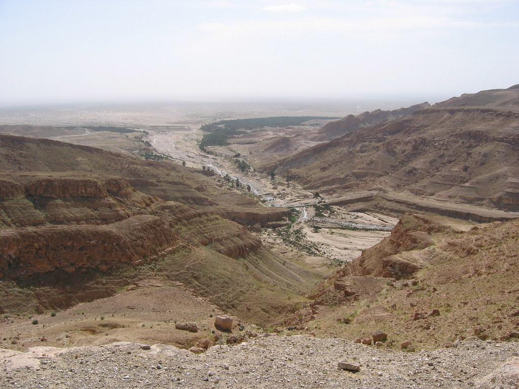 Desert scenery, Tamerza, Tunisia