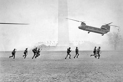 Marines Land at Washington Monument to Quell Protests: Mayday 1971