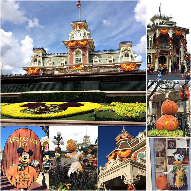Walt Disney World during Fall and Halloween