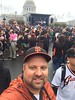 Selfie at the 2014 Giants World Series Ceremony at Civic Center