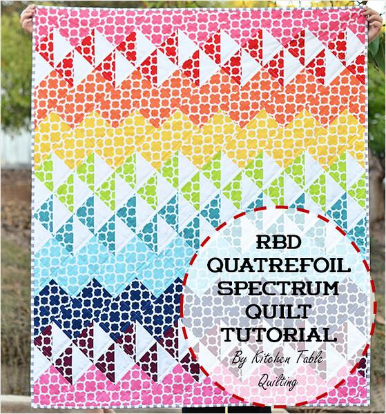 quatrefoil spectrum quilt