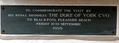 Photo of Andrew slate plaque