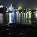 Charles Bridge at night by aproudlove