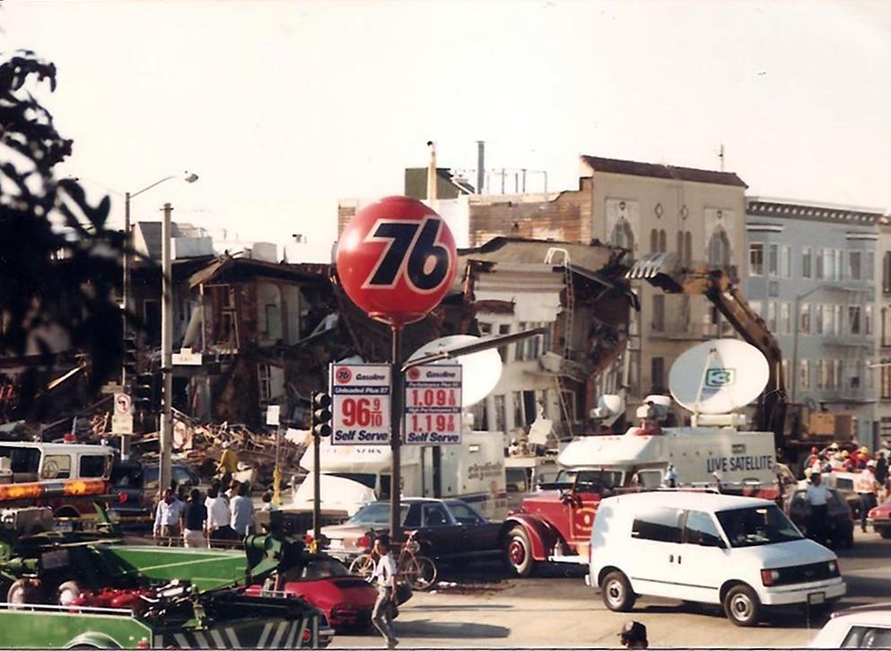 1989 Earthquake The Marina The Loma Prieta Earthquake Sa Flickr