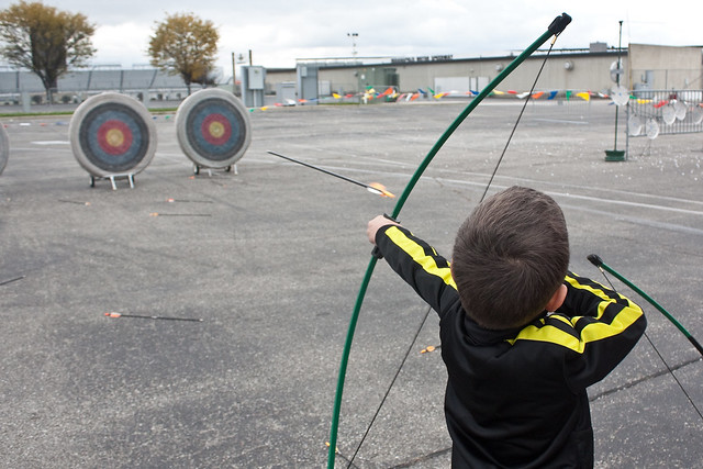 Cub Scout Fun Day Archery
