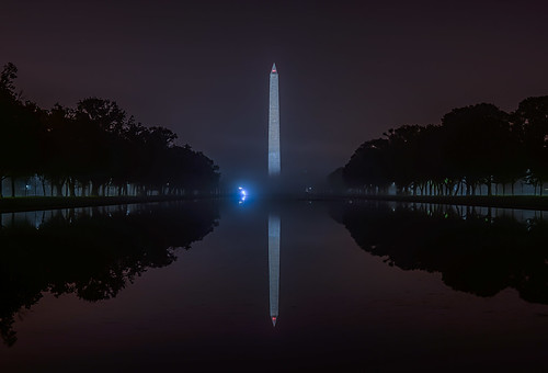 Washington in the Fog by Geoff Livingston