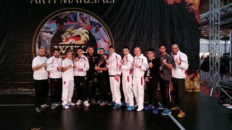 Fight Club Galatsi Team in WKA 2014 - Carrara, Tuscany, Italy