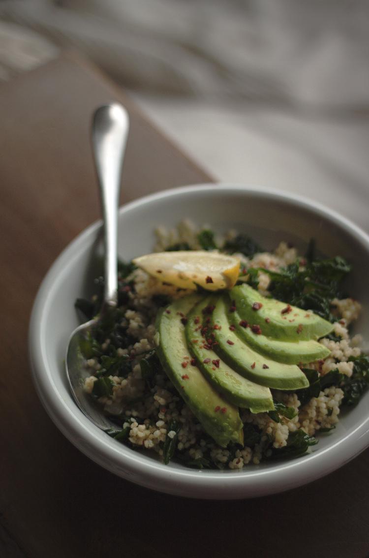 kale millet bowl 2