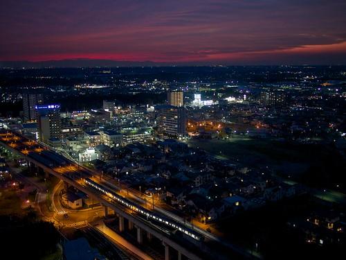 sunset japan evening colorful vivid 日本 moriya 夕焼け 守谷 日没 守山市