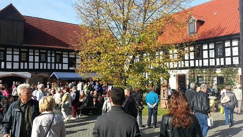 Kunstrunde nach Göpfersdorf 18.10.2014