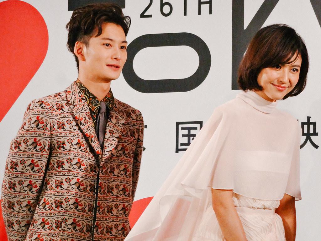 26th Tokyo International Film Festival: Nagasawa Masami & Okada Masaki from Beyond the Memories