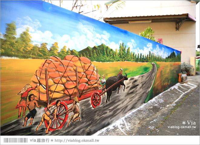 【關廟彩繪村】新光里彩繪村~在北寮老街裡散步‧遇見全台最藝術風味的彩繪村56