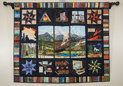 tapestry, art, textile, quilting, painting,
