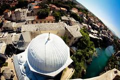 Mostar, pogled mujezina za munare