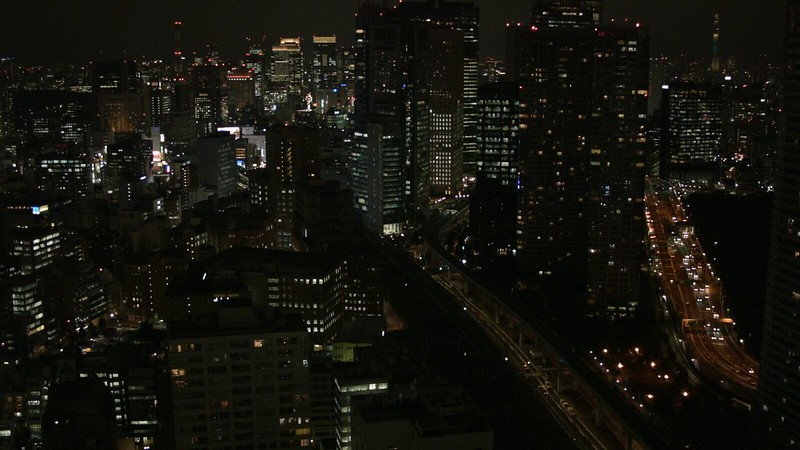 浜松町から東京方面