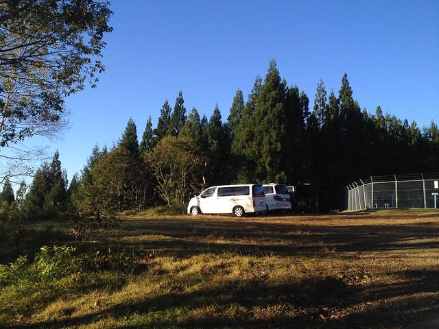 大日ヶ岳 ひるがの高原ルート 登山口 駐車場